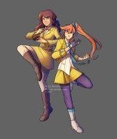 Yellow fighters by Ticcy