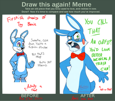 FNaF - Draw This Again Meme by Koili