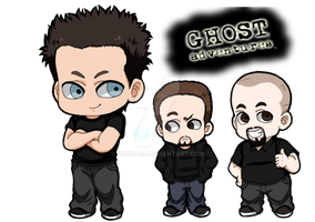 Ghost Adventures Chibis by Furipa93