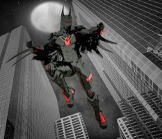 Batman Beyond Armor by hiram67