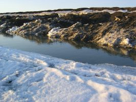 Icy pond 1 by Arctic-Stock
