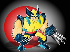 wolverine by kevtoons