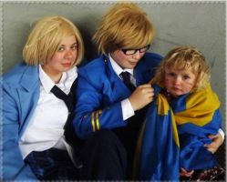 APH - The Happy Family by GilbirdX