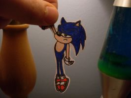 Paper Child- Sonic by lnsert-creative-name