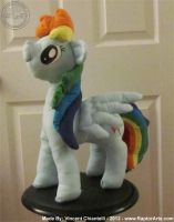 Rainbow Dash Talking Plush and video by RaptorArts