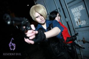 Resident Evil 6 NOEL and ADA by Asuka10