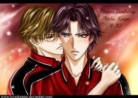 HAPPY BIRTHDAY ATOBE KEIGO !!!!!! by lovedreams