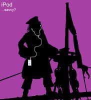 iPod. . . Savvy? by StegeKay