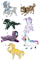 CLOSED - Puppies Adoptables 193 by LeaAdoptables