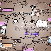 +MEGA PACK PNG Pusheen cat. by lovingandpeace