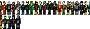 Injustice: Gods Among Us Roster by Shadows-Twilight