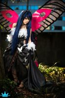 Kuroyukihime cosplay from Accel World by lillybearbutt