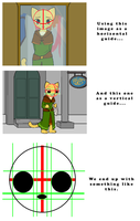 Katia Face Guide (eye and nose positions) by AMKitsune
