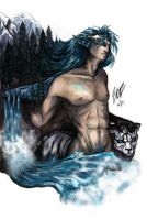Grimmjow- Wilderness Within, Color by ebjeebies