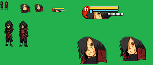 madara jus sprite With  face and bar! by zacharyleebrown