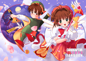 Cardcaptor Sakura Fanbook Wraparound Cover by Apricot-Crown