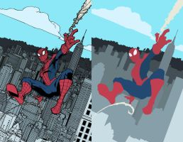 Amazing Spider Man   Return Of Peter Parker FLATS by Staminaboy