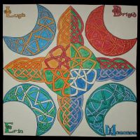 Celtic Tattoo - 4 Color Ways by Trish2