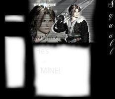 Squall Layout by kingdomhearts800