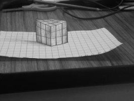 Anamorphic Cube by SLSistrunk