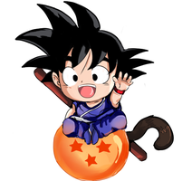 Young Goku by InsainlyColorful