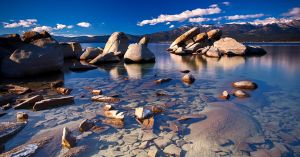 Sand Harbor. Tahoe East Shore. by sellsworth