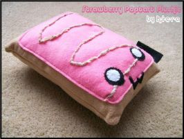 Strawberry Poptart Plushie by K-i-e-r-a