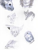 My note sketchs yay by FuNiSmYwAy