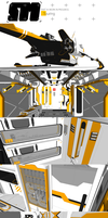 Stryder Modularity's Mako: WIP Part 7 by Pixel-pencil