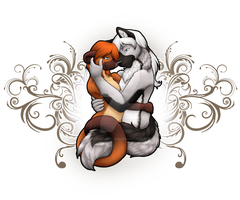 Tender Moment in Time by ClemiKinkajou