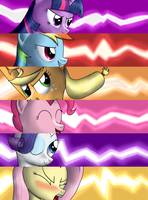 Pony Fire Emblem Criticals - The Mane 6 by SyforceWindlight