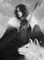 Jon Snow by rodmendez