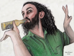 ALESTORM - Christopher Bowes by Jdraco723