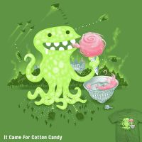It Came For Cotton Candy - tee by InfinityWave