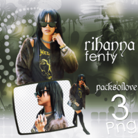 PNG PACK (77) Rihanna by DenizBas