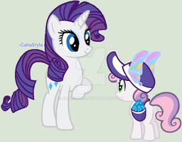 Rarity's 1# Fan by CutieStyle