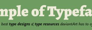 Temple of Typefaces - Banner by MartinSilvertant