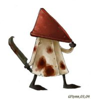 Cute Pyramidhead by snoot