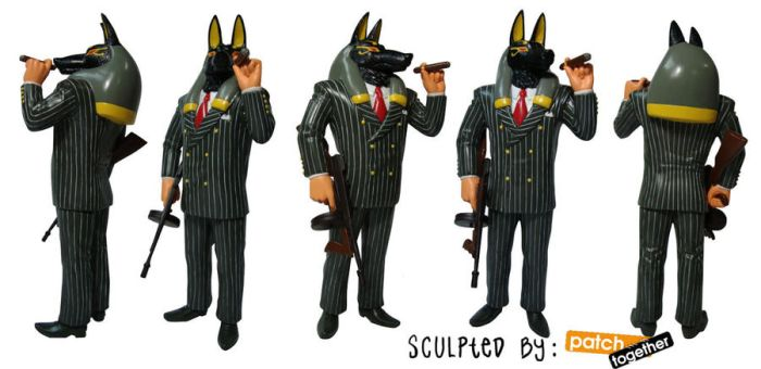 Mobster Anubis- ON SALE NOW by akireru