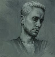 Sketch - Jared Leto by Duh22