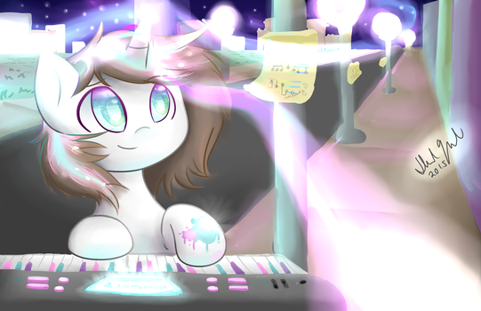 Pastel Melody Wallpaper by FeatherWishMLP