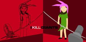 Sketch v. Style: Louise Kills Giants by TheBoyd