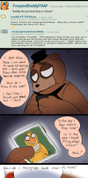 FNAF - Ask#40 Who  Do You Love? by Atlas-White