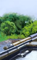 Wet Roofs by Chewfie
