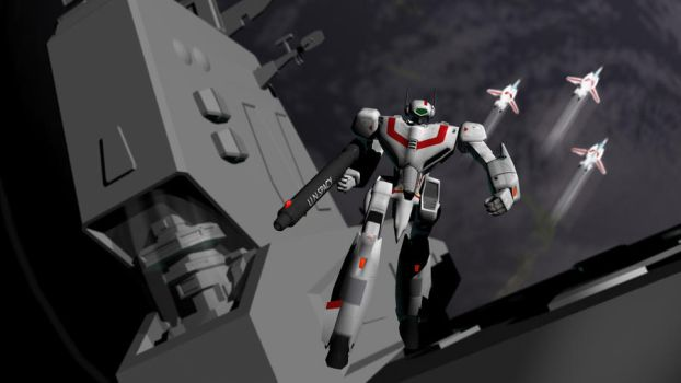 Robotech Opening by knighted-feline