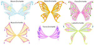 Enchantix_wings_set by Verdy-K