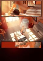 Graphic Novel page preview by Elena-Ciolacu