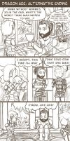 Dragon Age Alternative Ending by PoemiChan