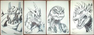 G-Fest Marker Sketches by AlmightyRayzilla