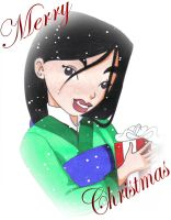 Merry Christmas from Mulan by Jupta